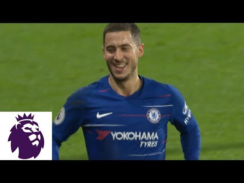 Video: Eden Hazard dribbles around goalkeeper and scores against Watford | Premier League | NBC Sports