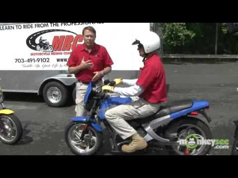 Motorcycle Tutorial - Starting and Shifting