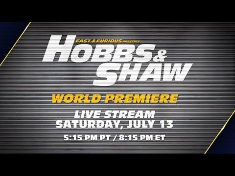 Hobbs & Shaw World Premiere