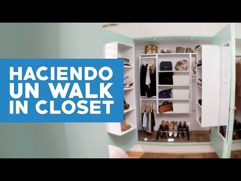 Cómo hacer de un closet un Walk-in closet?