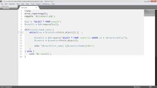PHP And MySQL With MySQLi: Joins (Part 9/9)