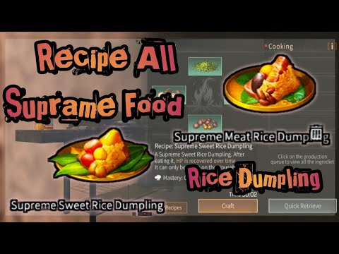 Recipe Dumpling Supreme Food & All Dumpling | Double 5th Lifeafter