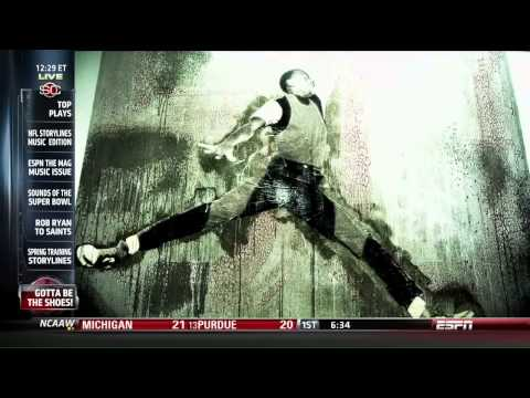 ESPN Sports Center   Michael Jordan 50: Its Gotta Be The Shoes | Video