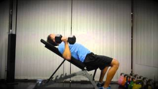 Exercise Index: Incline Benchpress with Dumbbells (Neutral Grip)