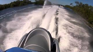 4. Yamaha FX SHO Cruiser - top speed mangrove run 1
