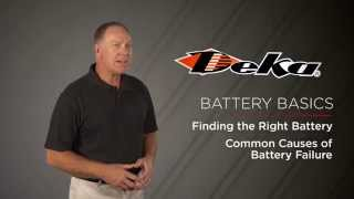 General Battery Knowledge