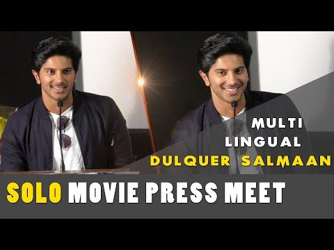 Actor Dulquer Salmaan Talks About Multilingual Stars In This Movie | Solo Movie Press Meet