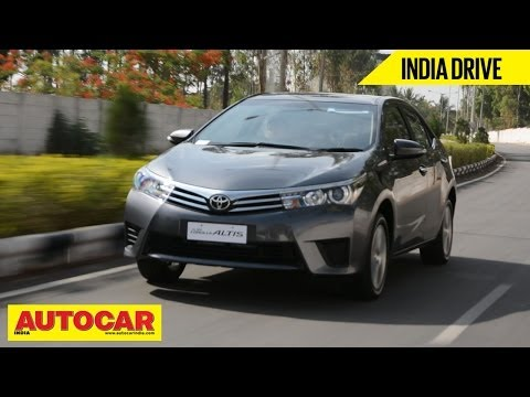 2014 Toyota Corolla Altis | India Drive Video Review | Autocar India
