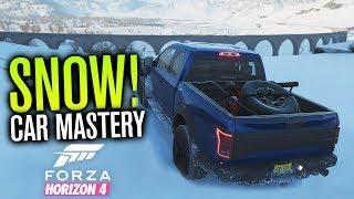Forza Horizon 4 Gameplay | SNOW, Car Mastery, Auction House, Challenges & MORE!