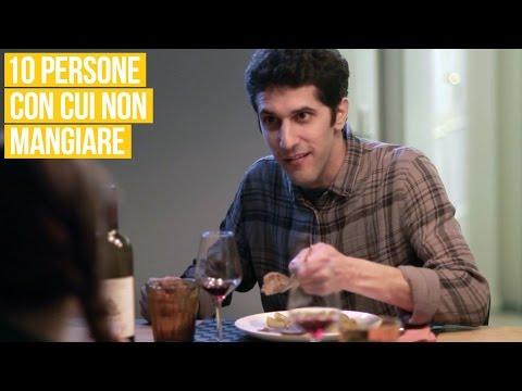 10 tipi con cui è meglio non andare a mangiare!