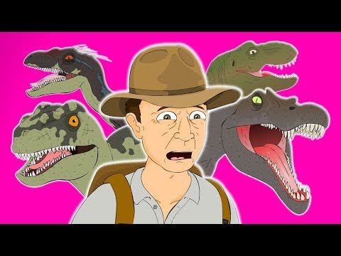 ♪ JURASSIC PARK 3 THE MUSICAL - Animated Parody Song