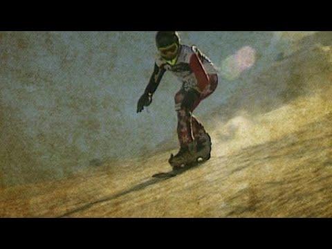 Vor 20 Jahren: Der erste Snowboard-Marathon