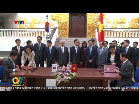 FTA Việt Nam - Hàn Quốc thời cơ cho hàng hóa xuất khẩu của Việt Nam