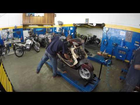 Processo de Manutenção da Kasinski Prima 150 Vinho - 0282 - LR Motos