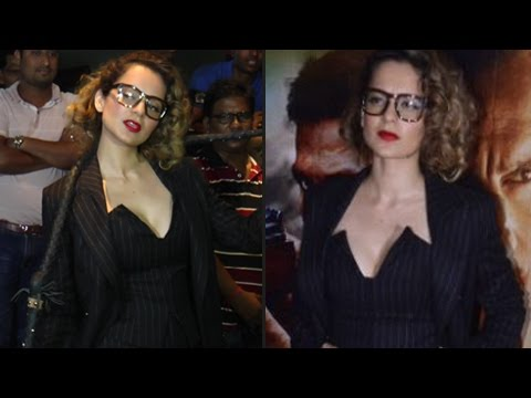 Kangana Ranaut Hunterwali Boss Lady Look | Rangoon