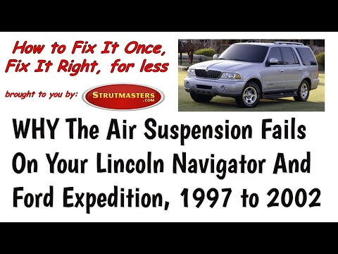 Why The Air Suspension Fails In The 1997-2002 Lincoln Navigator