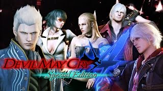 Видео Devil May Cry 4 Special Edition