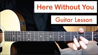 Video 3 Doors Down - Here Without You | Guitar Lesson (Tutorial) Chords MP3, 3GP, MP4, WEBM, AVI, FLV April 2018