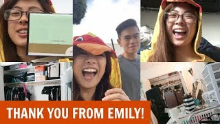 June 24th 2017Emily had to keep her promise and dress up in a chicken costume for you all since you all helped her so much with her UniCamp fundraiser! She took over the vlog and showed you her day as she walked around as chicken! I hope you all enjoy this vlog and enjoy a little bit of my day as well! Thank you all so much for watching and I hope you subscribe to be a part of the #infinityfam and I'll talk to you all in the next vlog!XOXOCindy♥ Watch my previous vlog - https://www.youtube.com/watch?v=crTYhHmqwps♥ Subscribe to my main channel - https://www.youtube.com/user/infinitelycindyFOLLOW ME ON SOCIAL MEDIA♥ Instagram - http://instagram.com/infinitely_cindy♥ Infinity Family Instagram - http://instagram.com/cindysinfinities♥ Twitter - https://twitter.com/infinitelycindy♥ Snapchat - infinitelycindy♥ Fyuse App - infinitelycindy ♥ Soundcloud - https://soundcloud.com/infinitelycindy♥ Infinity Family Instagram - https://www.instagram.com/cindysinfinities/♥ PO BOX (Valid from August 2016-September 2017)Cindy Thai2355 Westwood Blvd #879Los Angeles, CA 90064♥ For business inquiries -- infinitelycindy(@)gmail.com♥ For business inquiries for my vlog channel -- infinitelyvloggin(@)gmail.com