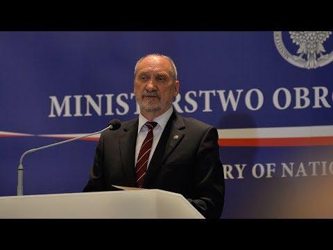 Prezentacja Koncepcji Obronnej RP - wystąpienie ministra A. Macierewicza