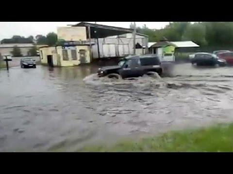 Καταστροφικές πλημμύρες σε Πολωνία – Αυστρία