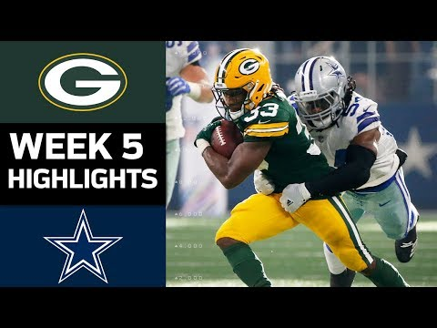 Video: Packers vs. Cowboys | NFL Week 5 Game Highlights
