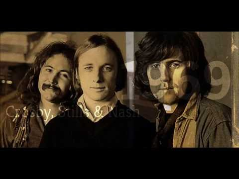 "Crosby Stills & Nash (1969) - 09) ""Long Time Gone"" видео"