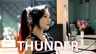 Video Imagine Dragons - Thunder ( cover by J.Fla ) MP3, 3GP, MP4, WEBM, AVI, FLV Juni 2018