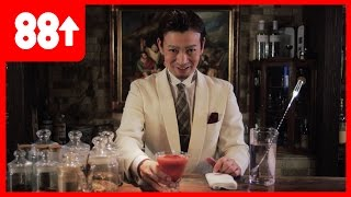 Japan's Greatest Bartender - Kayama-san. Season 2 coming soon. 🍸88 is double happiness