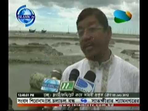 Hamidur Rahman Azad MP about his Nirbachony Alaka bonna porristete Islamic TV