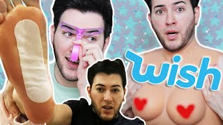 I Tried the CHEAPEST Beauty Products from WISH… it gets weird by Manny Mua