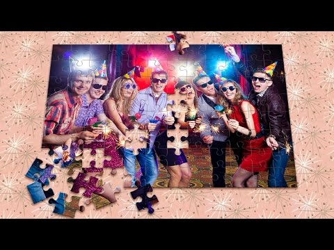 Photoshop CC 2015 Tutorial: How To Transform Photos Into Jig-Saw Puzzles! (CC And Later)