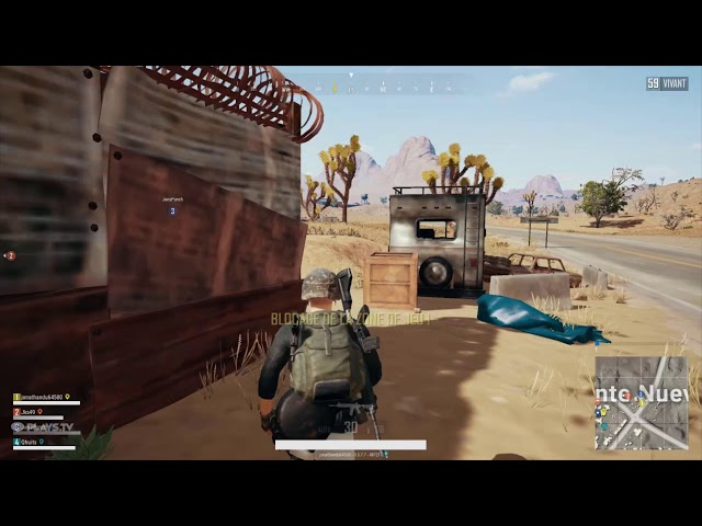 PlayerUnknown's Battlegrounds gameplay eMp.KoxX (teams) top 1