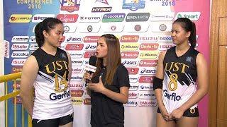 Match MVPs: Christine Francisco and Eya Laure | PSL Collegiate Grand Slam 2018