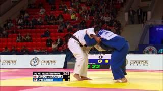 Beka Gviniashvili (Georgia) vs Mashu Baker (Japan) World Judo Championships 2015 - AstanaJudo - 90kg