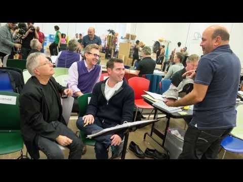 broadway - Journey into the rehearsal studio of Broadway's new musical comedy, ALADDIN. Get tickets at www.aladdinthemusical.com.