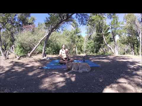 Get HIGH on Your OWN Supply!  Yogic / Wim Hof Breathing on the Mountain