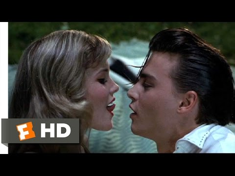 Cry-Baby (6/10) Movie CLIP - How To French Kiss (1990) HD