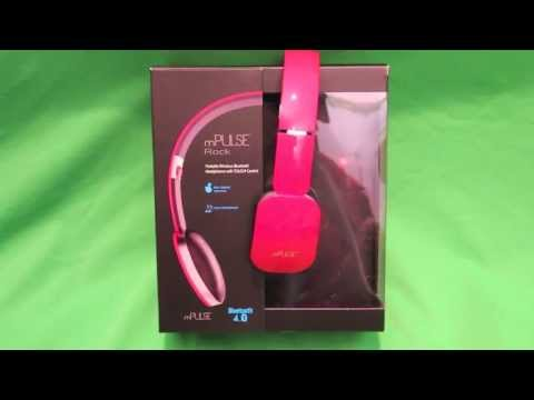 Headphones - mPulse Rock Headphones http://www.daddoes.com/8812/review-mpulse-go-mpulse-rock/ Today we look at the new Bluetooth v4.0 wireless headphones from mWorks! Bas...