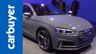 Audi S5 Sportback previewed at the Paris Motor Show - Carbuyer by Carbuyer