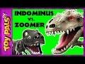 Jurassic World Indominus Rex ZOOMER DINO vs Oynx, MiPosaur Robotic Dinosaurs Comparison + Toy Review