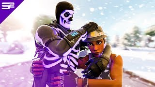 KILLING Twitch Streamers with PURPLE SKULL TROOPER (with reactions) in Fortnite