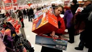 Shoppers go crazy on Black Friday