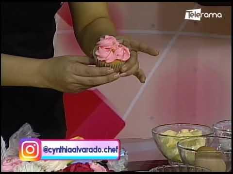 Aprenda a realizar cupcakes para celebrar a la mujer en su día