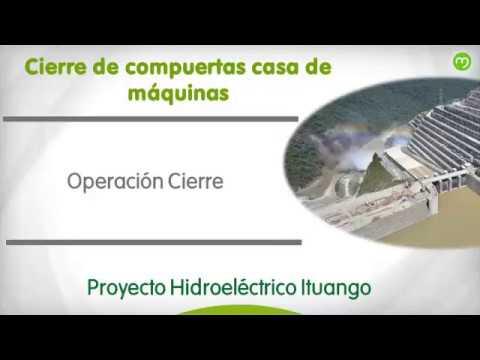 Estado de las obras en Hidroituango