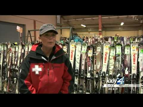 Snow bunnies flock to Spokane ski swap