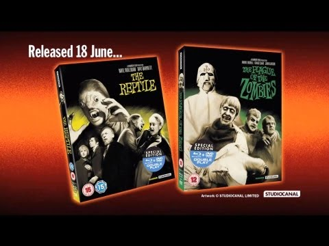 Preview of THE PLAGUE OF THE ZOMBIES and THE REPTILE StudioCanal/Hammer Double Play