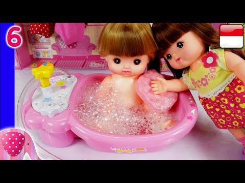 Mainan Boneka Eps 6 Bak Mandi Boneka Unboxing - GoDuplo TV