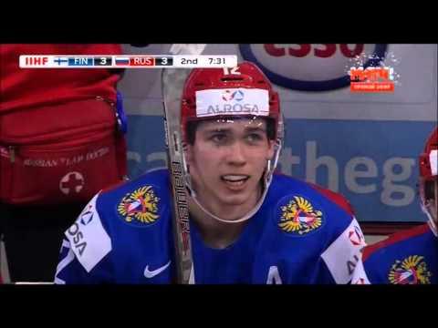 МЧМ по хоккею 2016. Россия - Финляндия (6:4 голы) (видео)