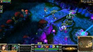 (HD061) 3c3 IEM Fureur V DNA -part4- League of Legends Replay [FR]